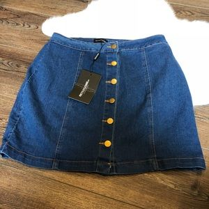 Pretty little things Cammie Denim mini skirt 14